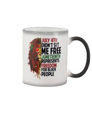 Justice for George Floyd July 4th Lion Color Changing Mug thumbnail