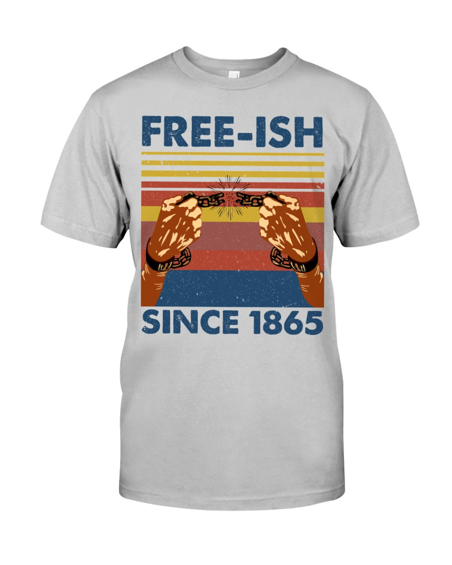 Justice for George Floyd Freeish since 1865 Classic T-Shirt