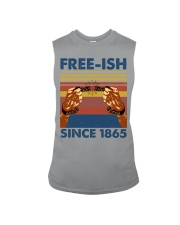 Justice for George Floyd Freeish since 1865 Sleeveless Tee thumbnail