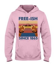 Justice for George Floyd Freeish since 1865 Hooded Sweatshirt thumbnail