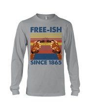 Justice for George Floyd Freeish since 1865 Long Sleeve Tee thumbnail