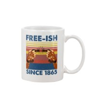 Justice for George Floyd Freeish since 1865 Mug tile