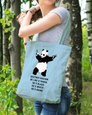 Be like a Panda  Tote Bag lifestyle-totebag-front-4