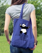 Be like a Panda  Tote Bag lifestyle-totebag-front-5