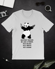 Be like a Panda  Classic T-Shirt lifestyle-mens-crewneck-front-16