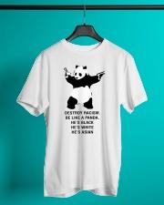 Be like a Panda  Classic T-Shirt lifestyle-mens-crewneck-front-3