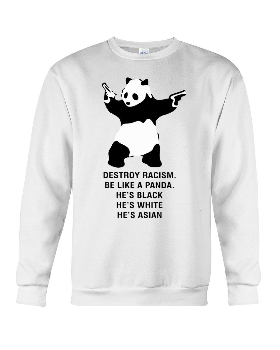 Be like a Panda  Crewneck Sweatshirt