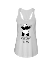 Be like a Panda  Ladies Flowy Tank front