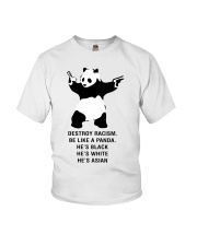 Be like a Panda  Youth T-Shirt front