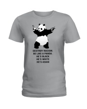 Be like a Panda  Ladies T-Shirt tile