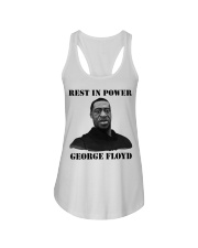 Justice for George Floyd Rest in Power Ladies Flowy Tank thumbnail