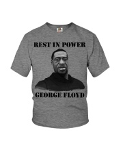 Justice for George Floyd Rest in Power Youth T-Shirt thumbnail