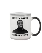 Justice for George Floyd Rest in Power Color Changing Mug thumbnail