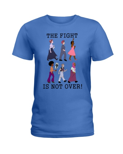 THE FIGHT IS NOT OVER