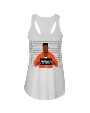 Justice for George Floyd Not a crime Ladies Flowy Tank thumbnail
