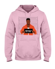Justice for George Floyd Not a crime Hooded Sweatshirt thumbnail