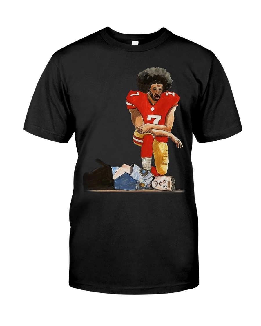 Justice for george floyd Colin Kaepernick kneeling Classic T-Shirt