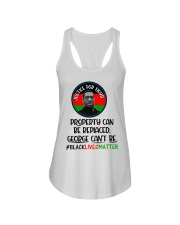 Justice for George Floyd Property can be replaced Ladies Flowy Tank thumbnail
