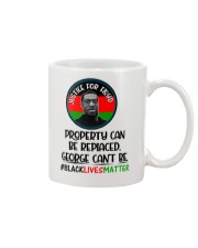 Justice for George Floyd Property can be replaced Mug thumbnail