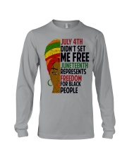 Justice for George Floyd July 4th Women Long Sleeve Tee thumbnail