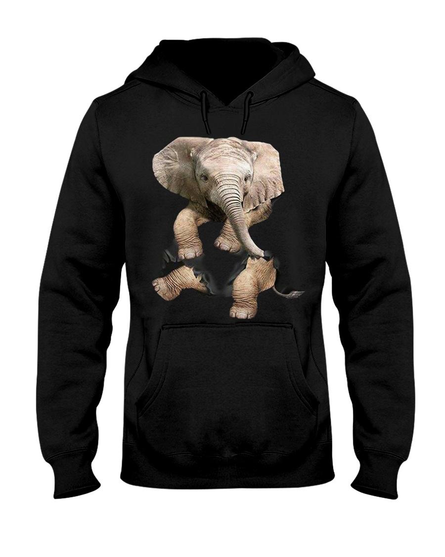 Elephant Hoodie  Hooded Sweatshirt