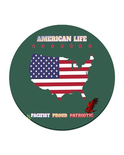 American Life Pacifist Proud Patriotic