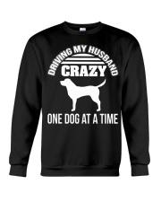 ONE DOG AT A TIME Crewneck Sweatshirt thumbnail