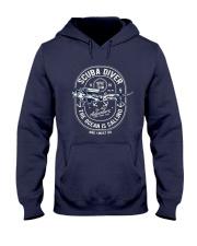 Scuba Diver T-shirt Hooded Sweatshirt thumbnail