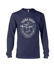 Scuba Diver T-shirt Long Sleeve Tee thumbnail