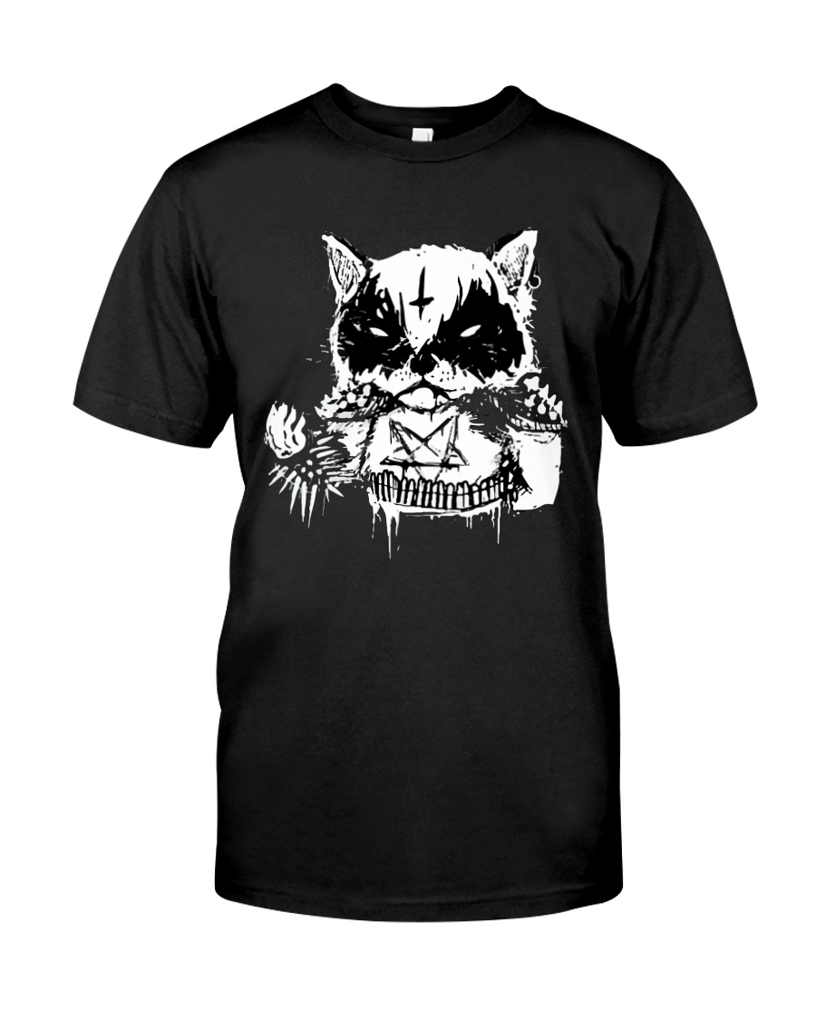 Black Metal Cat Classic T-Shirt