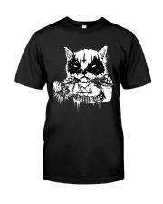 Black Metal Cat Classic T-Shirt front