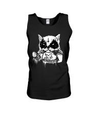 Black Metal Cat Unisex Tank thumbnail