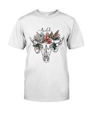 Ox Skull T-shirt Classic T-Shirt front