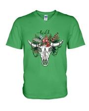Ox Skull T-shirt V-Neck T-Shirt thumbnail