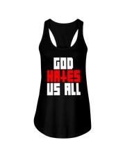 God Hates Us All Ladies Flowy Tank thumbnail
