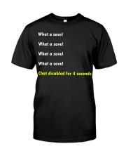 Rocket league - What a save Classic T-Shirt front