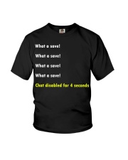 Rocket league - What a save Youth T-Shirt thumbnail