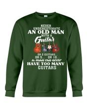 HAVE TOO MANY GUITARS Crewneck Sweatshirt thumbnail