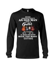 HAVE TOO MANY GUITARS Long Sleeve Tee thumbnail