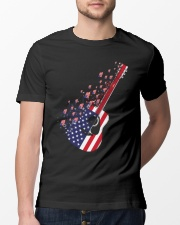 GUITAR FLAG Classic T-Shirt lifestyle-mens-crewneck-front-13
