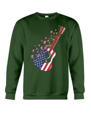 GUITAR FLAG Crewneck Sweatshirt thumbnail