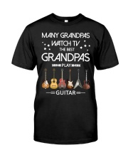 GRANDPAS PLAY GUITARS Classic T-Shirt front