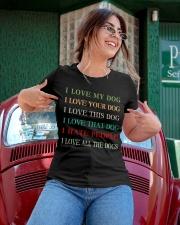 I LOVE MY DOG Ladies T-Shirt apparel-ladies-t-shirt-lifestyle-01