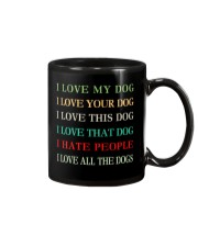 I LOVE MY DOG Mug front