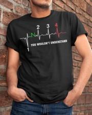 HEART BEAT GEAR 4 Classic T-Shirt apparel-classic-tshirt-lifestyle-26