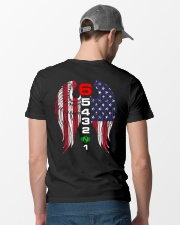 BIKER WING Classic T-Shirt lifestyle-mens-crewneck-back-6