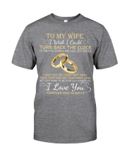 TO MY WIFE Classic T-Shirt thumbnail