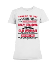 THINKING Premium Fit Ladies Tee thumbnail