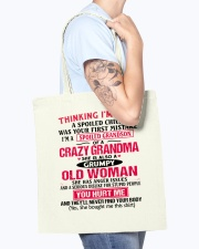 THINKING Tote Bag accessories-tote-bag-BE007-front-model-02