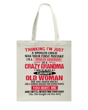 THINKING Tote Bag front